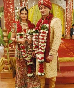 Siddharth and Divya as a married couple